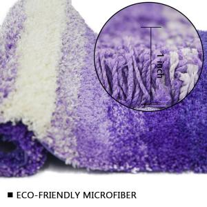 Wholesale Gradient Color Shaggy Non Slip Shower Rug Fast Drying Bath Mat from china suppliers