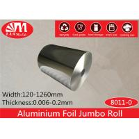Wholesale Alloy 8011 Temper O Aluminium Foil Jumbo Roll 30cm*10 Micron ISO Certificated from china suppliers