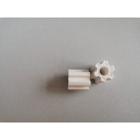 Wholesale Ceramic Corrugated Raschig Ring/Ceramic Gear Protective Agent/Ceramic tower packing from china suppliers