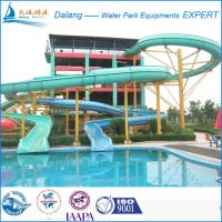 Cool swimming pool water slide fiberglass material of item 97722886 - Cool indoor pools with slides ...