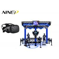 Wholesale 4 Players Standing Virtual Reality Game Simulator For Park 12 Months Warranty from china suppliers