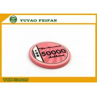 Wholesale Vivid Pink Scroll Ceramic Poker Chips Heavy European Poker Chips from china suppliers