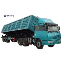 Wholesale Good quality Side Lifting heavy duty  Semi Trailer Van cargo Box Trailer 3 axles from china suppliers