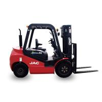 Wholesale 1 Ton Gasoline Forklift Truck , Gas Powered Forklift High Performance Low Noise from china suppliers
