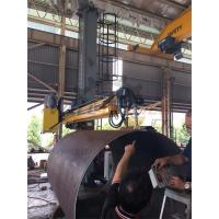 Automatic Column And Boom Welding Manipulator For Fit Up