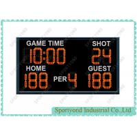 Indoor Outdoor Basketball LED Scoreboard With Internal 24 Seconds