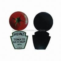Wholesale Fridge magnets, made of paper and soft rubber, non-toxic from china suppliers