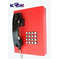 Wholesale Railway Red Emergency Phone Auto Dial Wearable Vandal Resistant from china suppliers