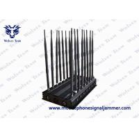 16 Antennas Mobile Phone Signal Jammer 3G 4GLTE / Wimax Phone Blocker