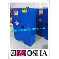 Buy cheap Hazardous Waste Storage Cabinets For Laboratory , Paint Industry Safety Cabinets from wholesalers