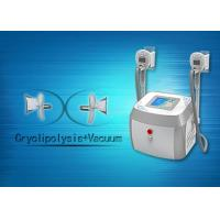 China Mini Cryolipolysis Slimming Machine With 40KHZ Ultrasound Cavitation RF 1- 50J/cm2 wholesale