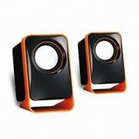 Wholesale USB 2.0 Speaker with 90cm Long Cable and 3.5mm Jack Audio Input from china suppliers