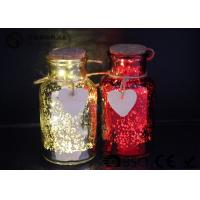 China Glass Jar Wine Bottle Led Lights For Home / Party / Events WB-019 wholesale