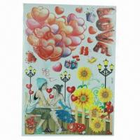 Wholesale Wall Decals/Stickers for Children's Room, Handmade from china suppliers