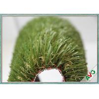 China Natural Looking UV Resistence Outdoor Artificial Grass For Residential / Garden / Landscape wholesale