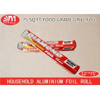 Wholesale 15 Micron Thickness Aluminium Foil Paper Roll For Food Wrapping Packaging Baking from china suppliers