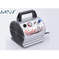 China Small Mini Air Compressor For Airbrushing Auto Start / Stop Fuction For 0.2-0.5mm Nozzle on sale