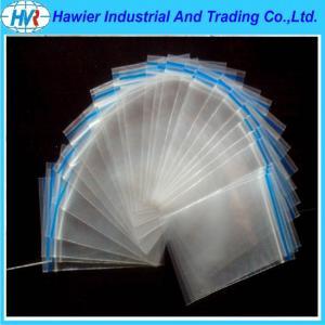 China New design FDA/EU approved LDPE transparent plastic ziplock bag on sale