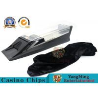 Wholesale Automatic Metal Poker Card Shuffler And Playing Card Dealer Shoe With Baccarat System Display from china suppliers