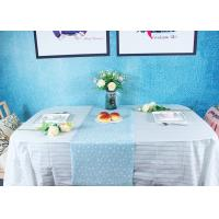 Wholesale Peppermint Stripes Disposable Paper Tablecloth Party Picnic Table Cover from china suppliers