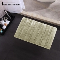 Wholesale BSCI Shaggy Microfiber Chenille Bath Mat With Latex Backing from china suppliers