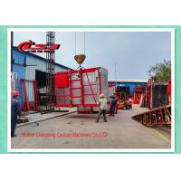 Wholesale High Efficiency Temporary Rack And Pinion Lift For Construction Site Double Cage from china suppliers