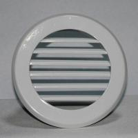 China Air conditioning round ventilation aluminum wall return air grille louver vent wholesale