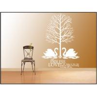 Wholesale PVC Moisture Proof Nature Wall Decals , Beige Modern Wall Decals 1m x 1.2m from china suppliers