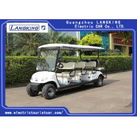Wholesale Beach Tire  Battery Powered Electric Road Legal Golf Cart For 7 - 8 Person Adults from china suppliers