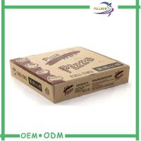 Wholesale Eco - Friendly Corrugated Paper Box Paper Pizza Box  OEM Design from china suppliers