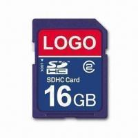 Wholesale SD Card with 5Mbps Reading Speed and 16GB Capacity, Measures 24 x 32 x 2.1mm from china suppliers