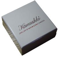 Wholesale Offwhite Varnish Paint Keepsake Gift Boxes Shining Red For Earing Display from china suppliers