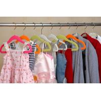 Wholesale Flocked Clothing Hangers (LD-F022) from china suppliers