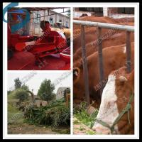 Wholesale silage processing machine wheat rice grass straw chopper from china suppliers