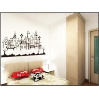 Wholesale Cream Coloured PVC Plastic Nature Wall Decals / Bedroom Wall Decals For Interior 0.9m x 2m from china suppliers