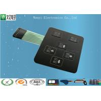 Wholesale 3D Square Keys Embossing Membrane Switch With ChangJiang Brand Female 2.54, 4 Pin Connectors from china suppliers