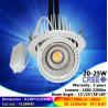 Buy cheap 2700K-6500K 20W recessed spotlight COB ceiling light high brightness cree from wholesalers