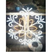 Wholesale christmas 3d snowflake motif lights from china suppliers