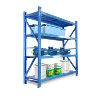 Buy cheap Four Layers Industrial Storage Rack Capacity 200kg / Layer Corrosion Protection from wholesalers