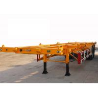 Quality Skeleton 40 ft Shipping Container Trailer With 2 Axle , ISO Container Carrier Trailer for sale