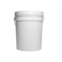Wholesale 20L Yellow and White Color Plastic Bucket Tank Without Honey Gate from china suppliers