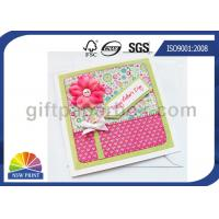 Quality Professional Mothers' Day Greeting Cards Printing Service / Festival Greeting Cards Printing for sale