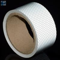 """Wholesale Semi Trailer Wide Transparent Reflective Tape High Intensity Glass Bead 2"""" x 30' Roll from china suppliers"""