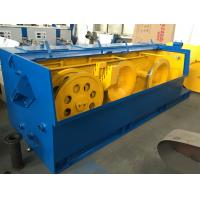 Speed Adjustable Large Pulley Wire Drawing Machine 500mpm Power Source Customized