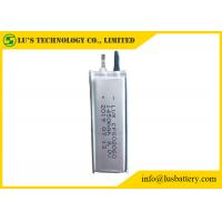 Wholesale 3V 1450mAh Ultra Thin Lithium Battery CP502060 Limno2 thin batteries from china suppliers