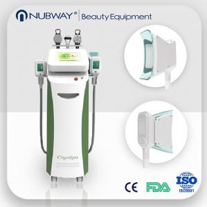 China Fat Burning 5 handles Vacuum Cavitation+RF+Cryolipolysis Radio Frequency slimming machine on sale