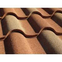 Buy cheap Colorful Stone Coated Metal Roofing Sheets Tile Villa Building Material Base On GI GL Steel 1340 and 420mm from wholesalers