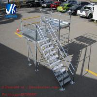 Wholesale Structural steel fabrication prefabricated steel staircase working platform from china suppliers