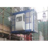 Wholesale 1000kg Twin Cage Construction Hoist Elevator for Building Material from china suppliers