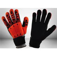 Wholesale Industrial Mechanic Work Gloves Impact Resistant Mechanic Safety Gloves 13 Gauge from china suppliers